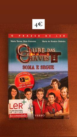 Livro O Clube das Chaves - Soma e Segue