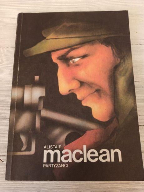 Partyzanci Alistair MacLean Anna Kraśko wydanie 1 1989