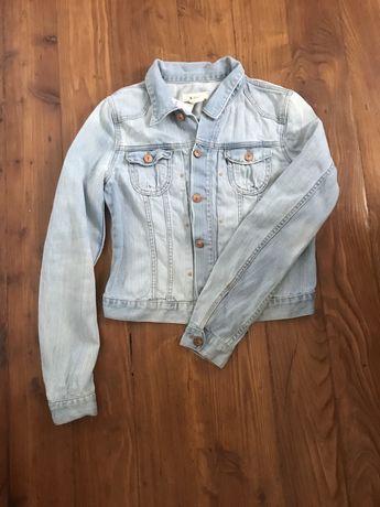Kurtka katanka jeans blekitna idealna na lato rozmiar M stan nowa