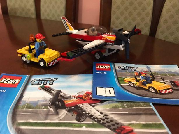 LEGO City Самолёт каскадёров (60019)