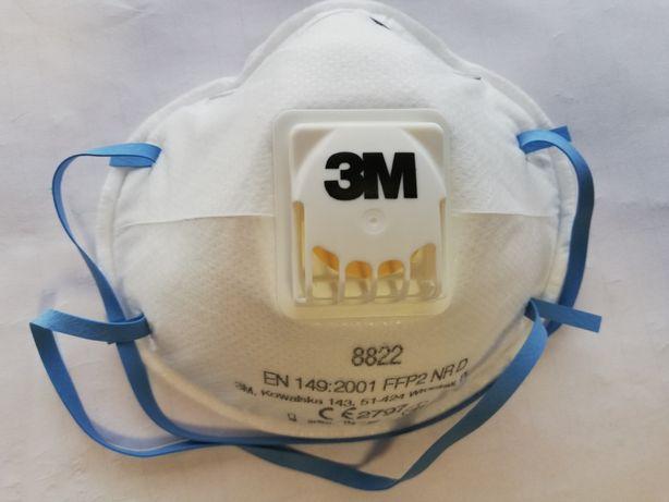 Maska 3M FFP2   maska ochronna maska budowlana 8822 Filtr Cool Flow