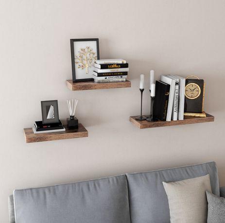 OUTLET - półka wisząca na ścianę naścienna łazienkowa do salonu