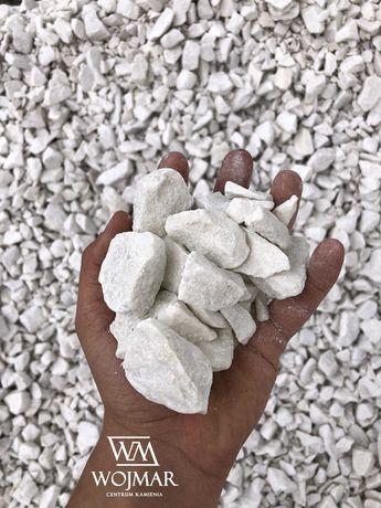 Dekoracyjny Grys biały marmurowy 16-45 TRANSPORT Tony/Worki 25kg