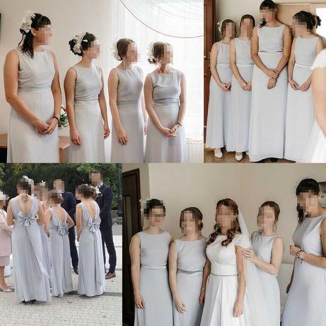 Sukienki dla 6 druhen w komplecie suknie druhenek