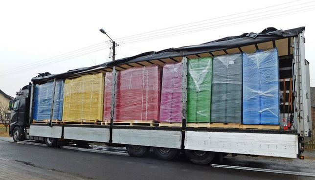 Zjeżdżalnia 2,5 m 5 szt. Ślizg Belgijski KBT slizg zjezdzalnia