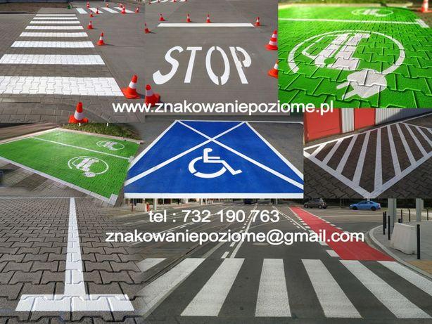 OZNAKOWANIE POZIOME Oznakowanie Parkingu Malowanie pasów