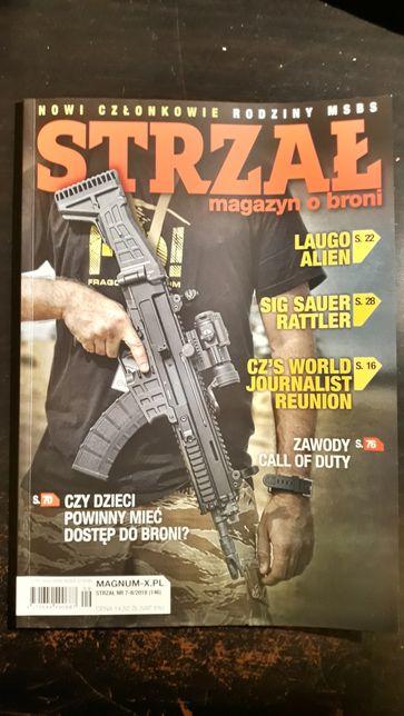 Magazyn militarny STRZAŁ nr 7-8/2018