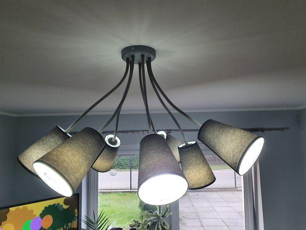 Lampa szare klosze , nowoczesna lampa
