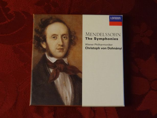 MENDELSSOHN, F. – Christoph von Dohnányi – Symphonies   Decca – 3 CD's