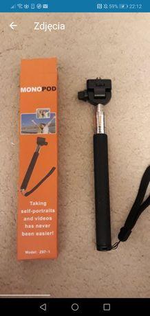 Monopod do kamer sportowych