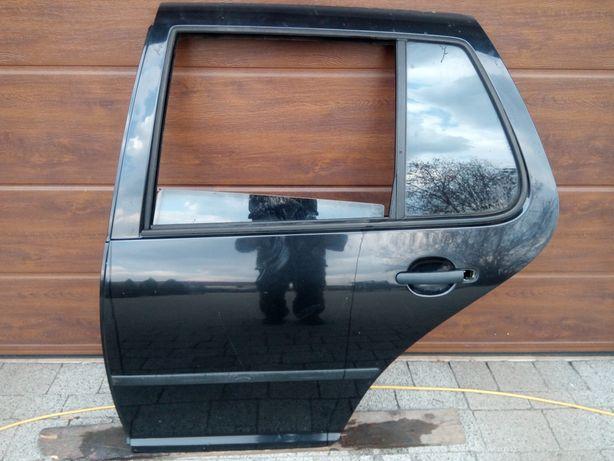 VW Golf IV 4 - Drzwi tył tylne lewe LC9Z