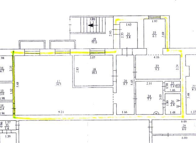 Сдам цокольное помещение с отдельным входом на Иванова 90м2