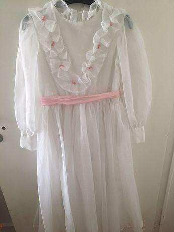 Vestido de comunhão/cerimónia vintage