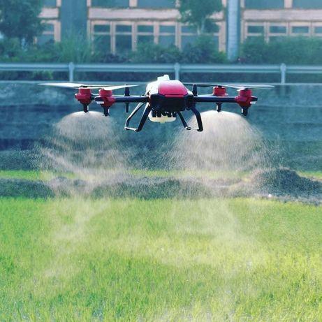 Десикація дронами дрон авиахимобработка беспилотник агродрон