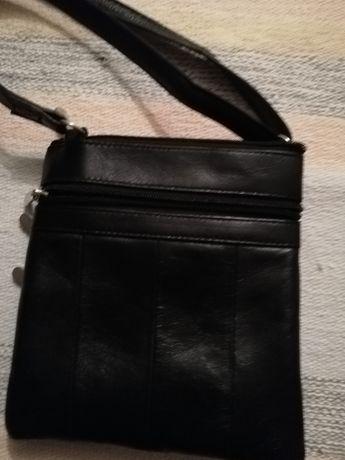 Bolsa de alça em couro