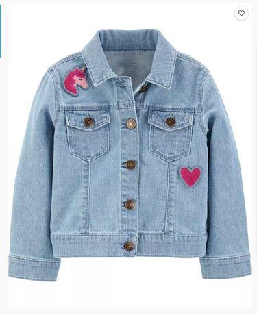 Джинсовый пиджак Carters 2 T