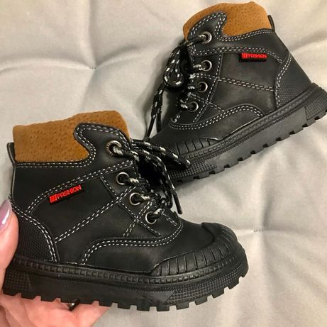 Ботинки для мальчишек (демисезон) - 16см