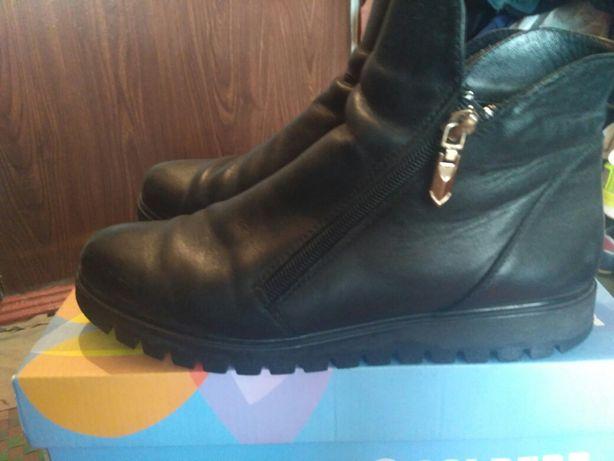 Деми кожаные ботиночки
