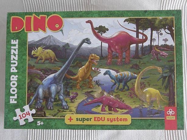 Puzzle podłogowe Dino Trefl
