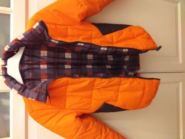 Śliczna lekka kurteczka+gratis ocieplane  spodnie.Rm.134cm.