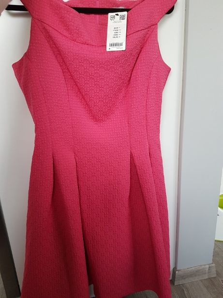 Nowa Sukienka Orsay różowa 42