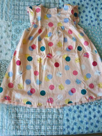 Vestido de menina 2 anos usado apenas uma vez
