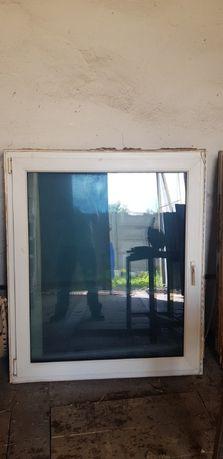okno plastikowe używane 120x140 okna
