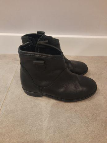 Czarne botki Zara 29