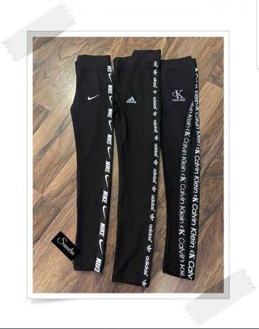 Leginsy Damskie PREMIUM S M L XL Tommy Hilfiger Nike Adidas Guess HIT