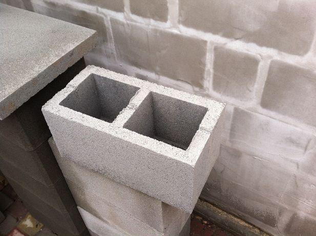 Новый стеновой блок 190х190х390, шлакоблок 190, заборный блок 190!!!