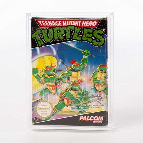 Caixas em acrilico para jogos Nintendo NES
