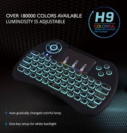 Беспроводная Мини клавиатура H9 с подсветкой RGB USB