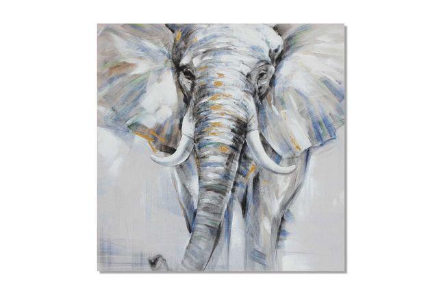 Quadro Elefante 100x100cm By Arcoazul