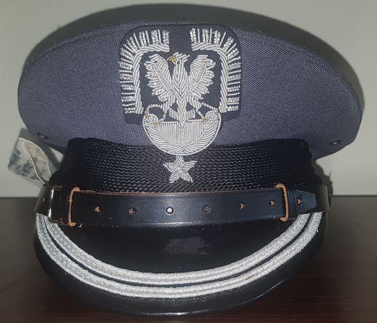 Czapka garnizonowa oficera LWP pilot wojskowy PRL mundur major