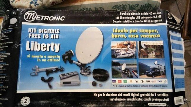 Kit Antena Parabólica Portátil