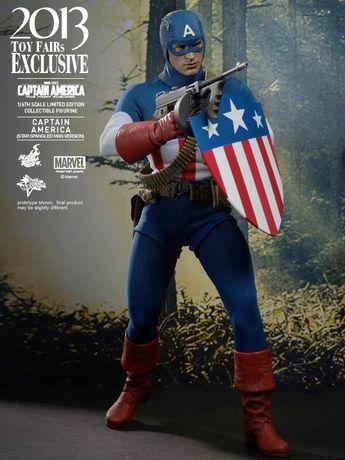 Скидка! Фигурка Hot Toys 1/6 CAPTAIN AMERICA Exclusive