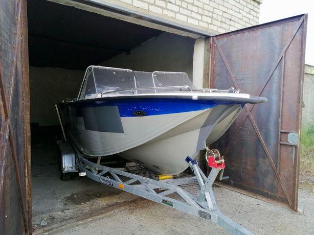 Катер, лодка UMS-600 + мотор + лафет СРОЧНО !