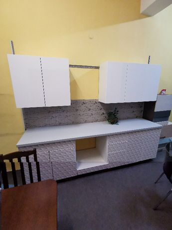 Nowa kuchnia z blatem meble kuchenne 260cm