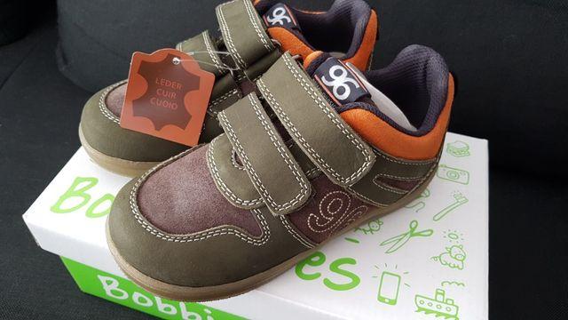 Кожаные сверху и внутри кроссовки на мальчика Bobbi Shoes Германия.