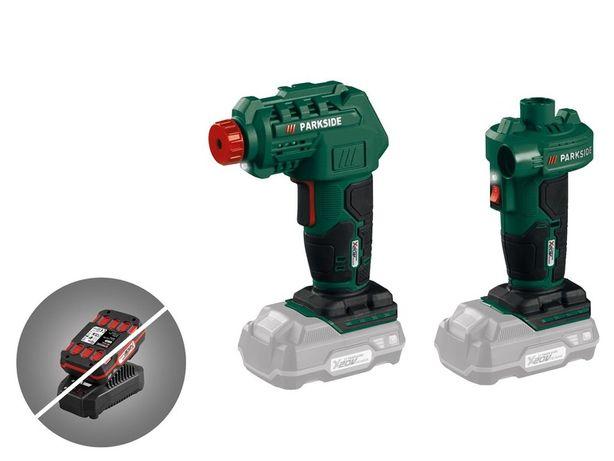 Nowe - PARKSIDE Akumulatorowy kompresor i pompa powietrza, PALP 20-Li