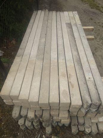 Słupki ogrodzeniowe betonowe 2,2m