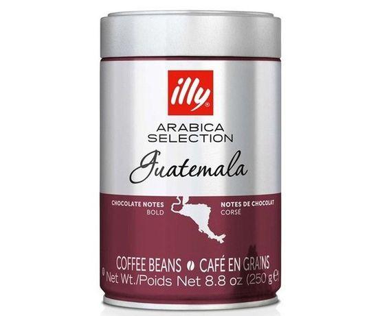 Кофе ILLY Monoarabica Гватемала, Бразіл, Ефіопія в зернах 250гр