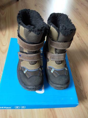 Buty zimowe r.34 wiatro-wodo i mrozo- odporne Cortina Deltex