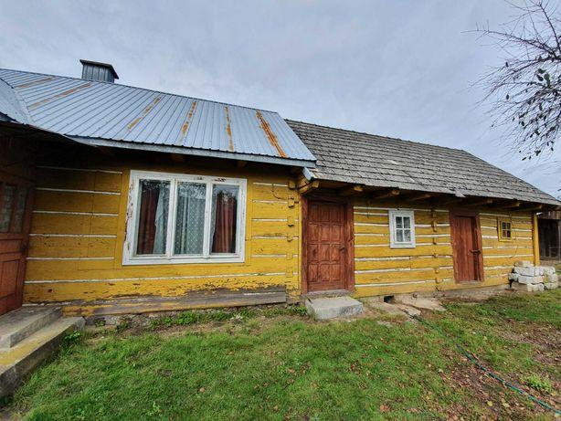 Drewniany dom do przeniesienia/rozbiórki