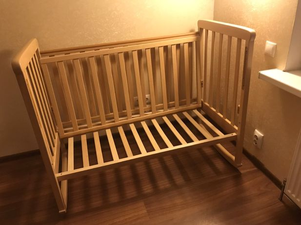 Кроватка Сонька Верес 120х60, материал -- бук