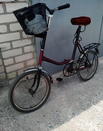 Раскладной велосипед Десна 2 в отличном состоянии высылаю