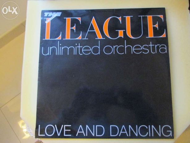 Lp love and dance (the human league unlimited orchestra)