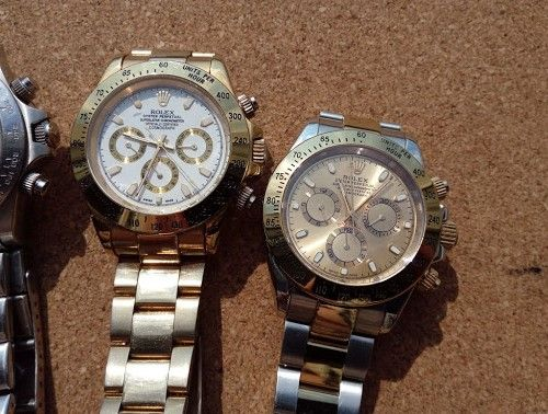 ААА класс! Rolex Daytona gold - Часы с мужским характером!