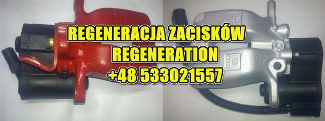 Elektryczny Zacisk SILNICZEK HAMULCA PASSAT B6,B7,B8,CC,Audi A8 A6 A4
