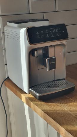 Philips Latte Go 3243 70 express ekspres do kawy biało srebrny
